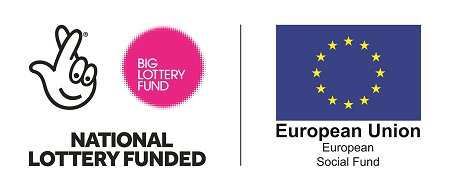 National Lottery Funded and European Social Fund